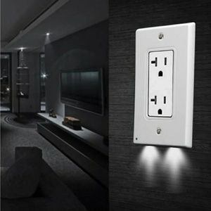 LED Lighted Outlet Covers